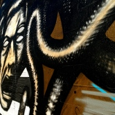 San Antonio street art. Photo taken on 03.28.2015.